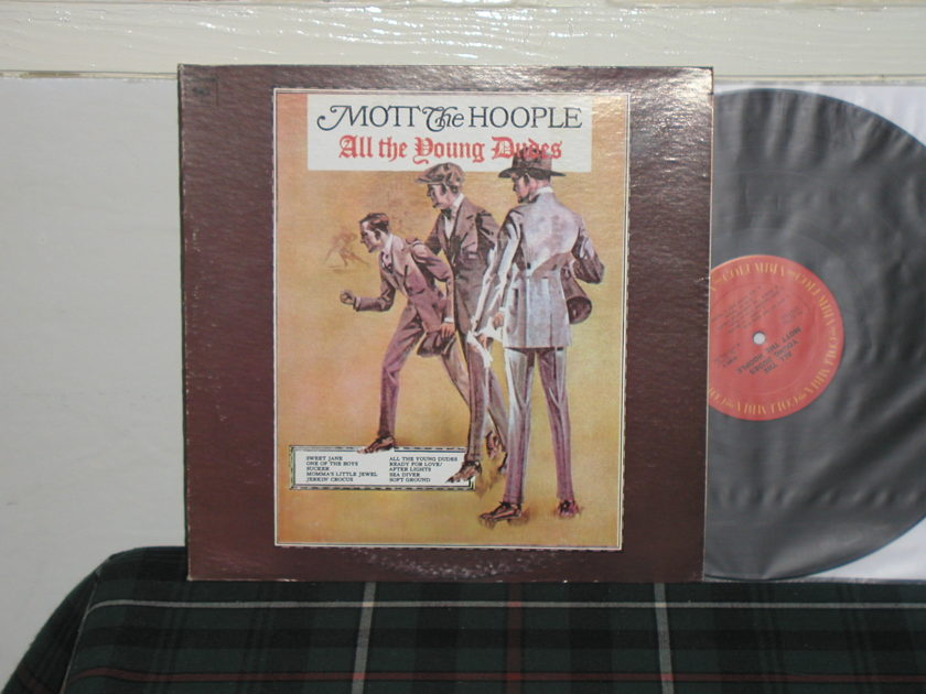 Mott The Hoople - All The Young Dudes (Pics) Columbia from '70's