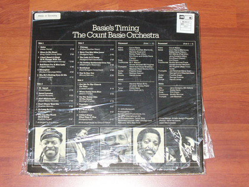 Count Basie - Basies Timing made in germany 2lp s.