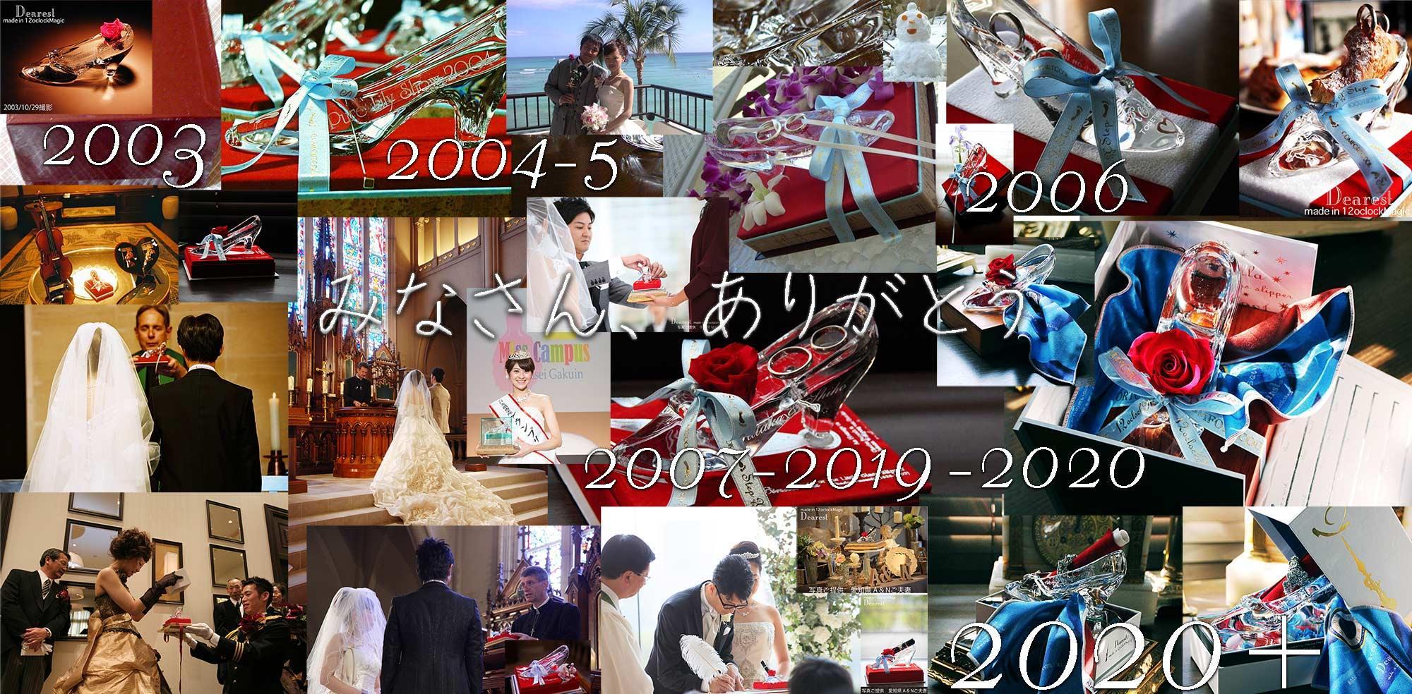 appreciation history 2003-2020