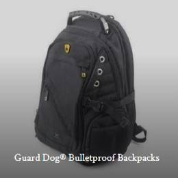 Bulletproof backpack collection