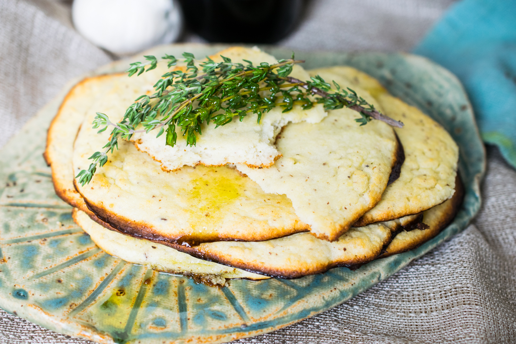 Oven Baked Naan