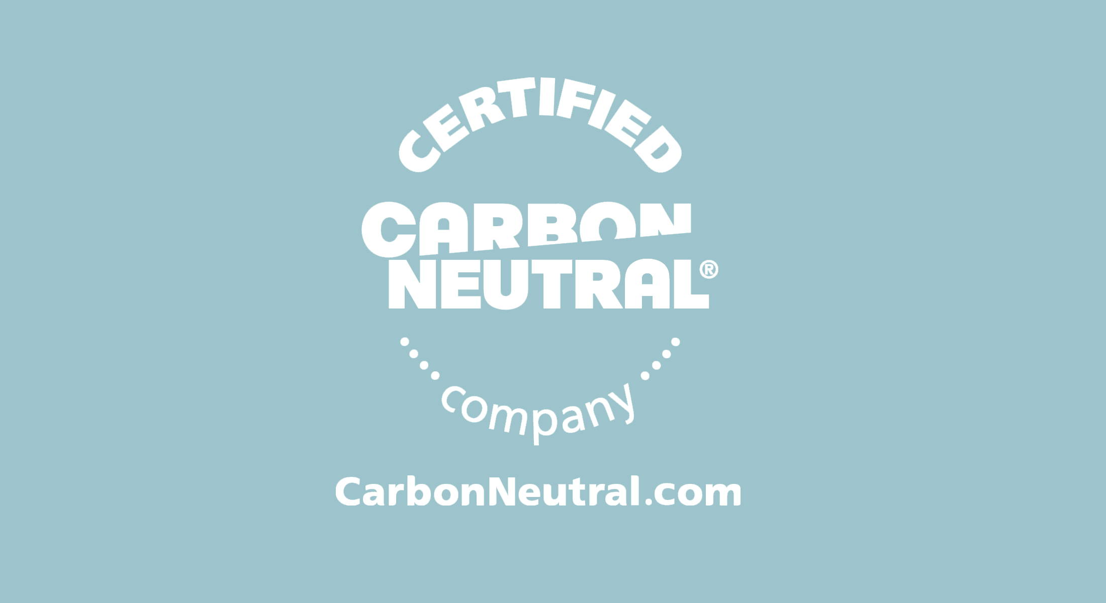 Certified Carbon Neutral Company logo
