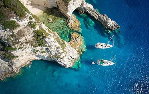 Luxembourg - Greece Yacht Charter Athens to Mykonos