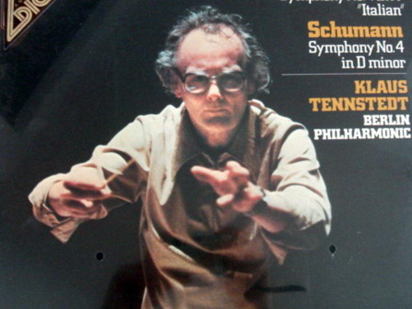 ★Sealed★ EMI Angel Digital / TENNSTEDT, - Mendelssohn Symphony No.4, Schuman Symphony No.4!