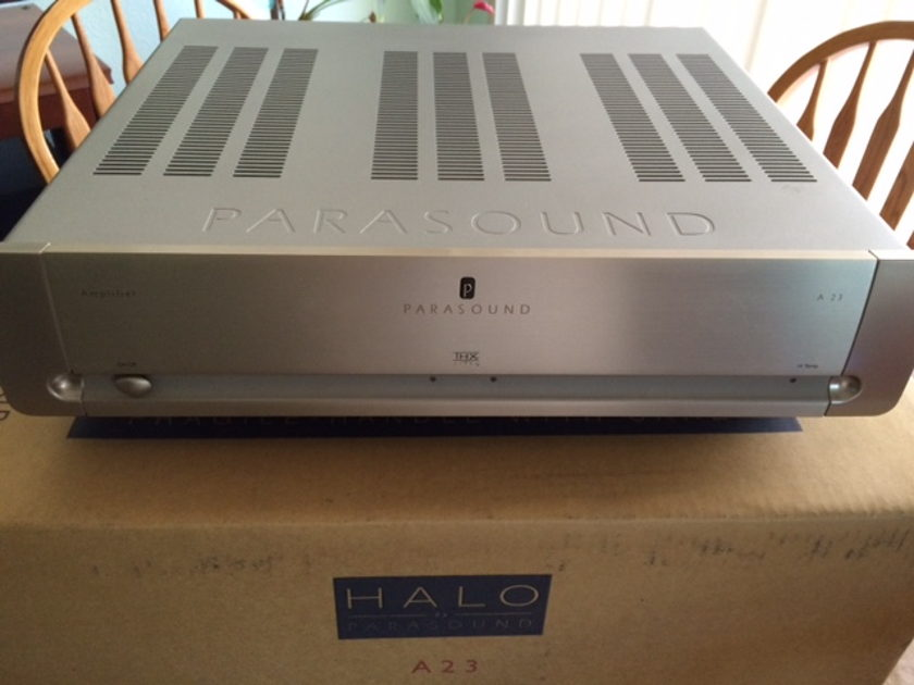 Parasound A23 Power amp