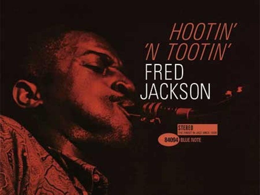 Fred Jackson   - Hootin' 'N Tootin' 45 RPM Vinyl Record