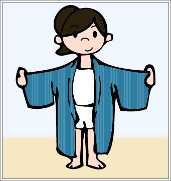 How to wear Yukata