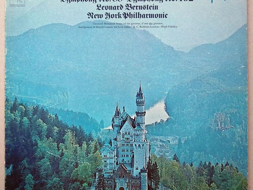 COLUMBIA   BERNSTEIN/HAYDN - Symphonies Nos. 88 & 102 / NM