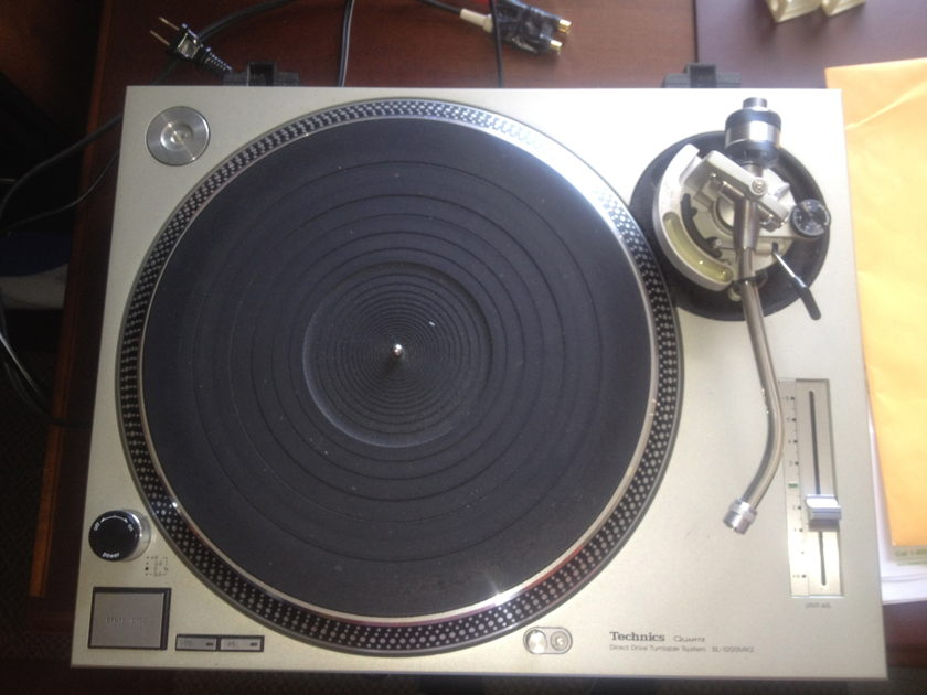 TECHNICS 1200 MK2 by KAB 78 RPM'S, SILVER