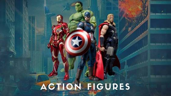 Avengers Action Figures - Free Shipping Across India