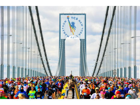 Run in the TCS New York City Marathon