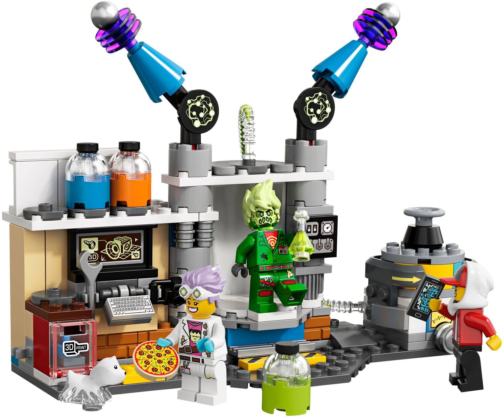 lego 70418-1: J.B.'s Ghost Lab