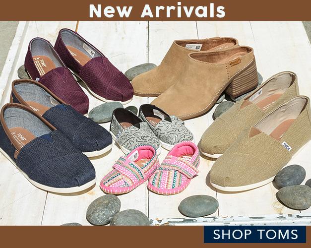 Toms New Arrivals | Tiltedsole.com