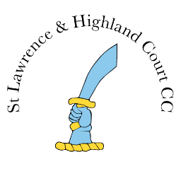 St Lawrence and Highland Court Cricket Club Logo