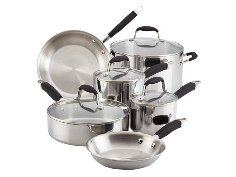 Get Premium Pots and Pans with an Anolon Advanced Tri-Ply Cookware Set