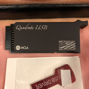 MSB Technology MQA Quad Rate Module