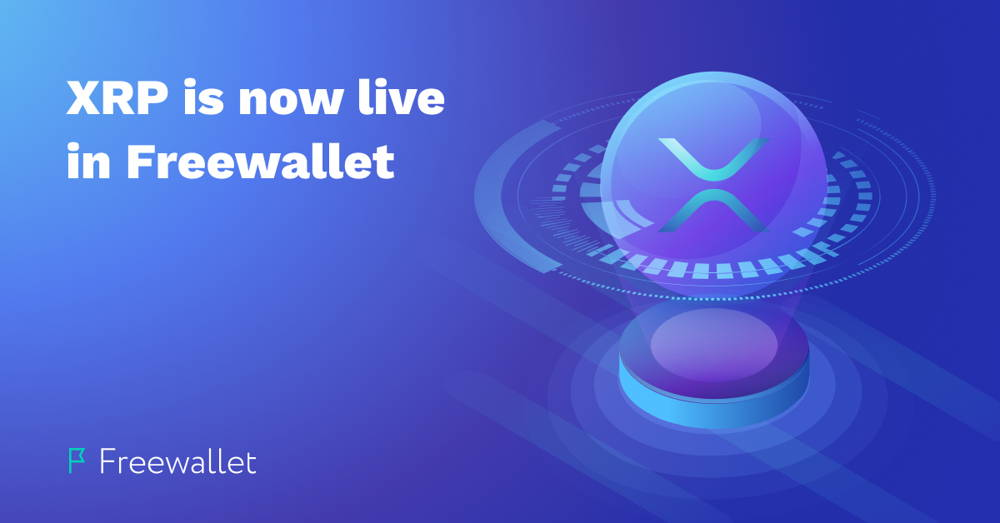Online XRP Wallet is added on Freewallet