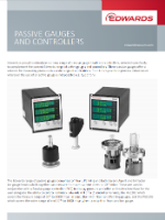 Brochure Edwards Passive gauges