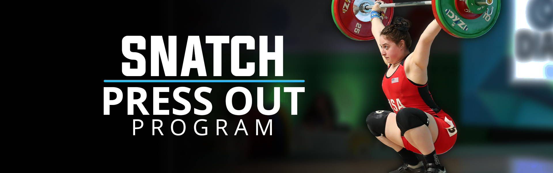 Snatch Press Out Olympic Weightlifting Program