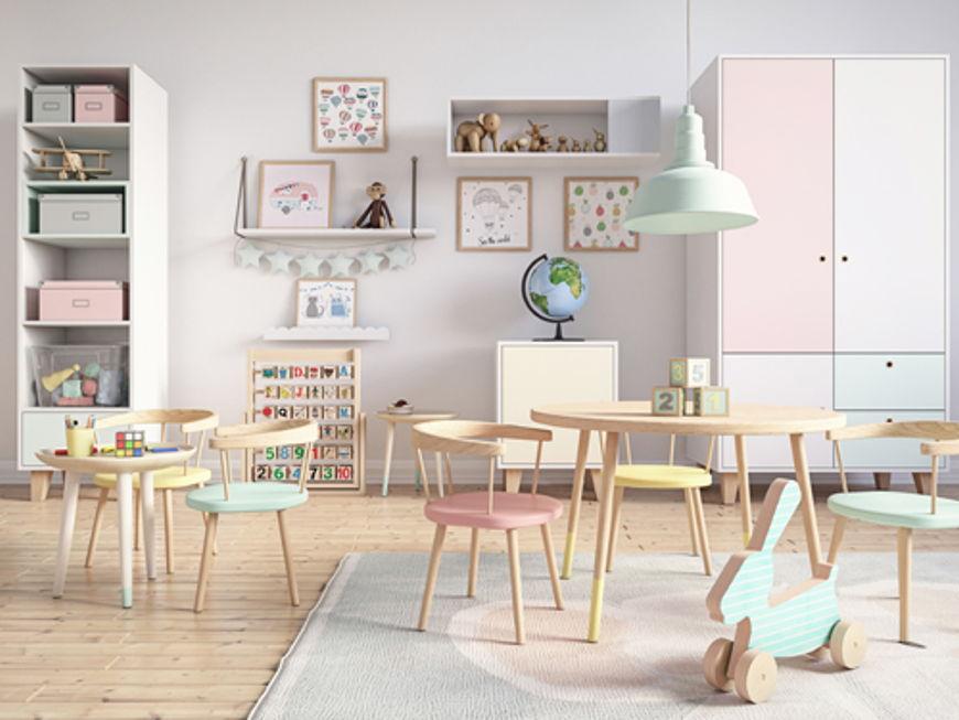 Spielzimmer für Kinder: Wintertaugliche Ideen für Spaß und Ordnung