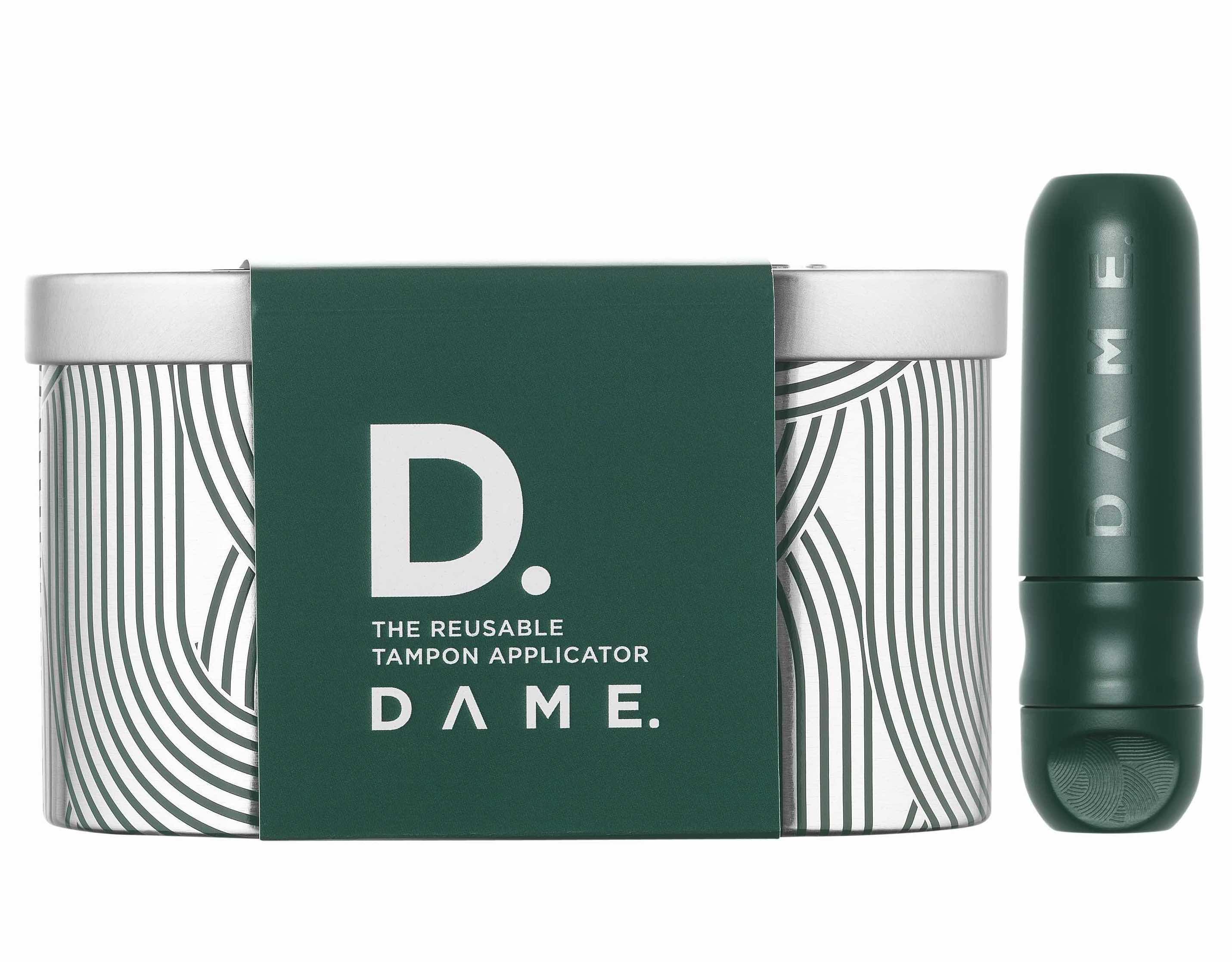 DAME reusable tampon applicator