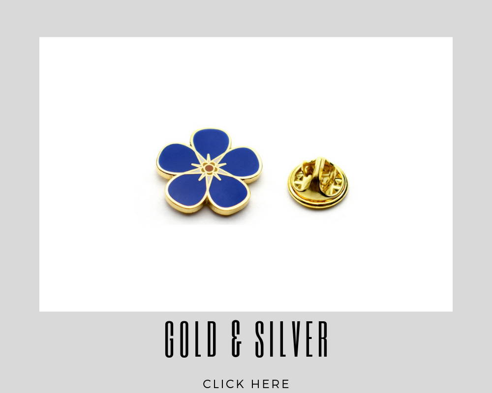 custom gold and silver lapel pins for corporate