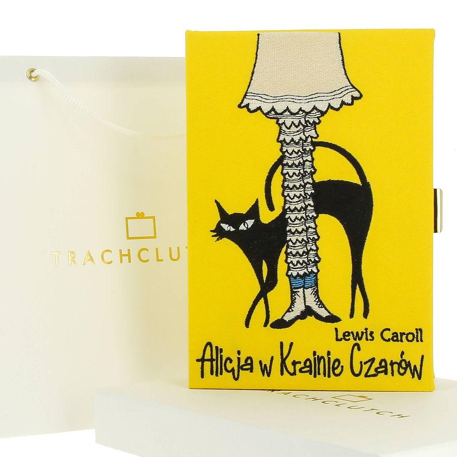 """Клатч-книга """"Алиса в стране чудес"""""""