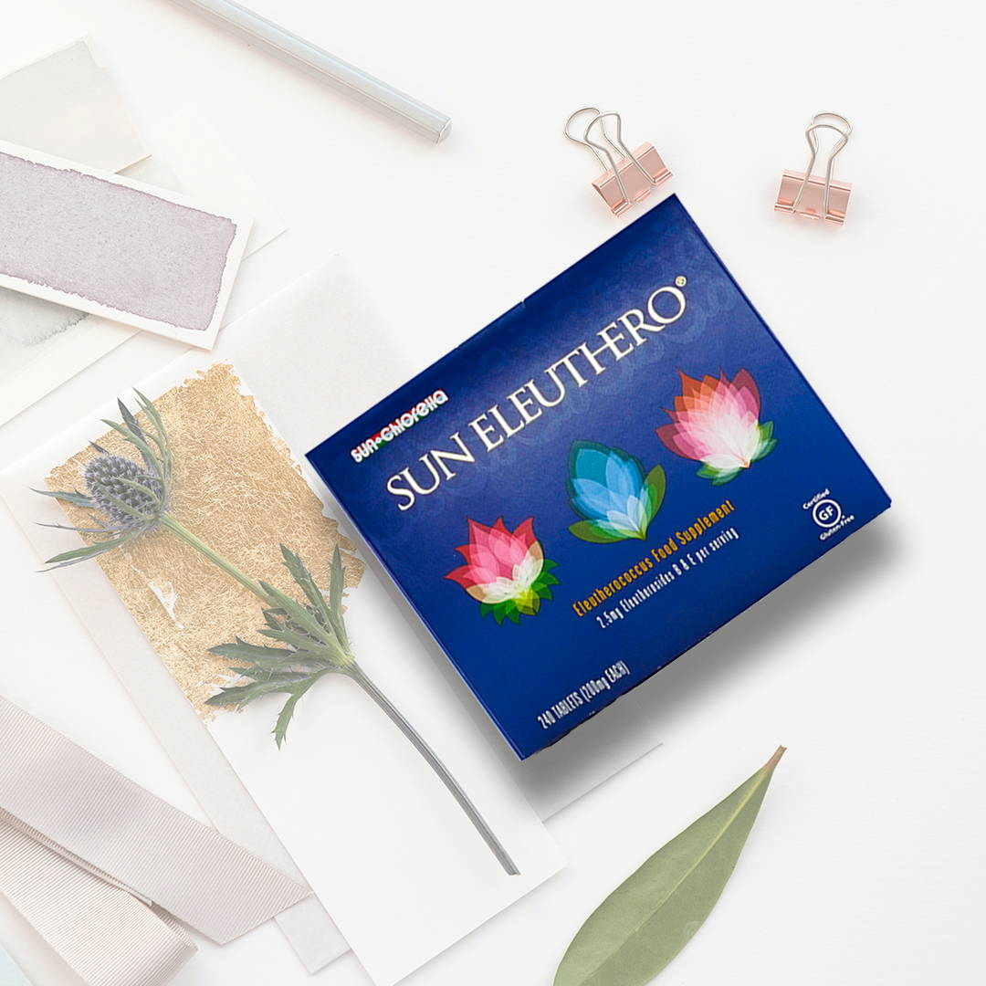 Sun Eleuthero tablets box