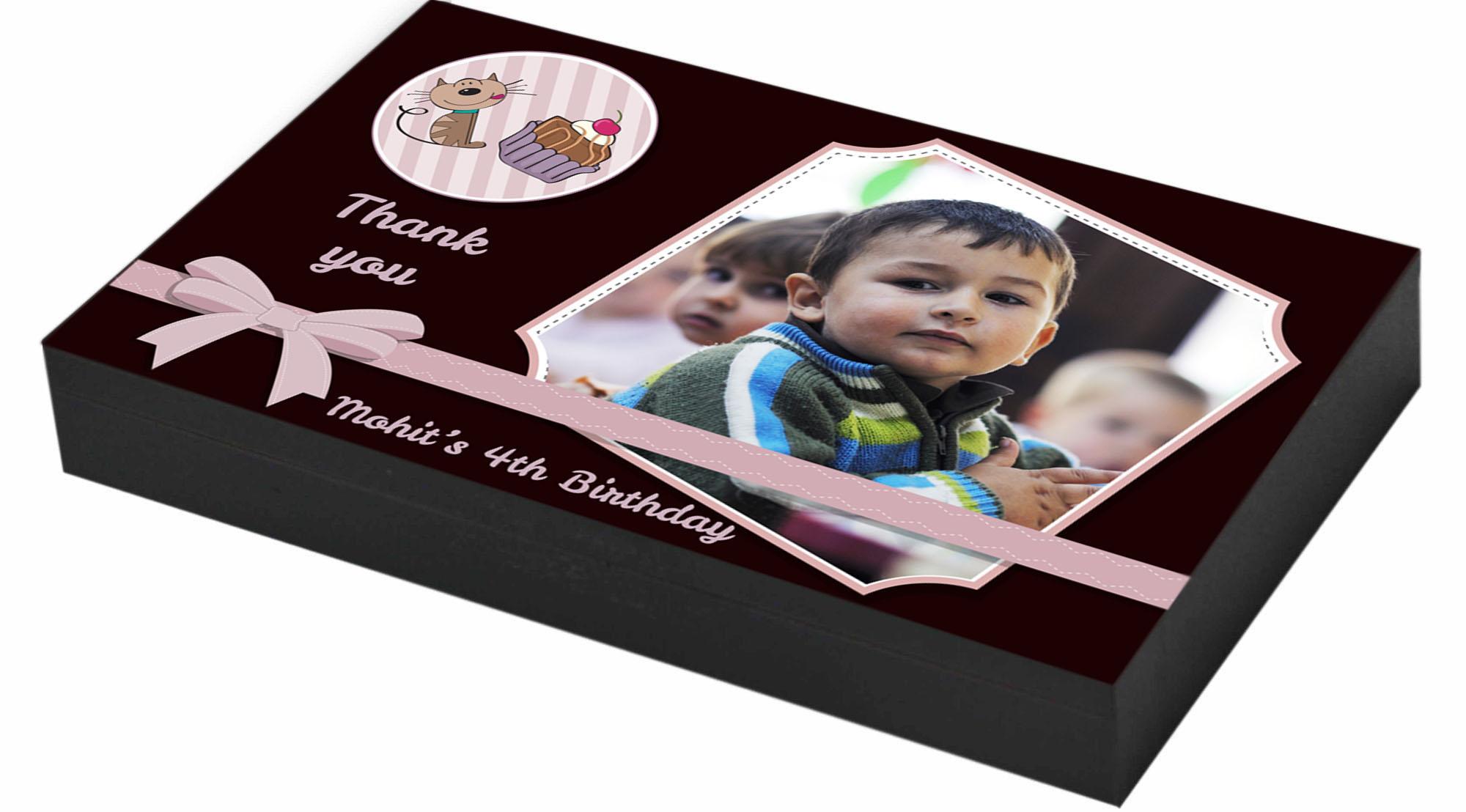 Personalised Birthday Return Gifts CHOCOCRAFT