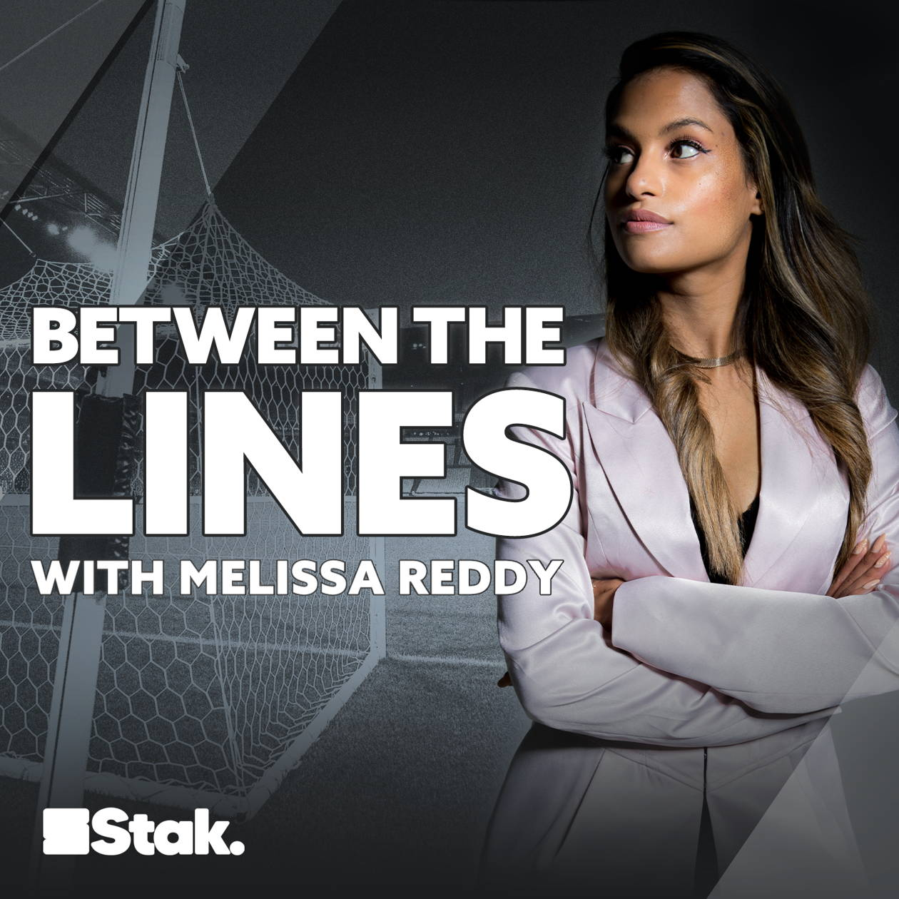 Artwork for the Between The Lines with Melissa Reddy podcast.