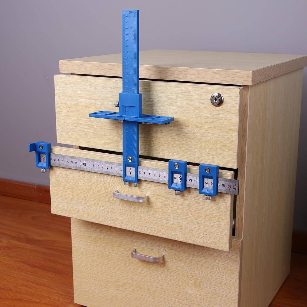 cabinet drilling template