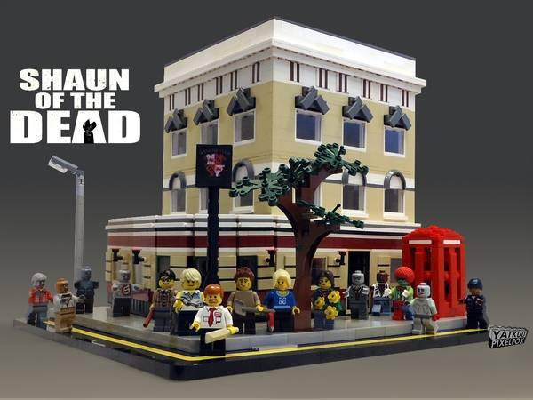 Shaun of the Dead Zombie LEGO Set
