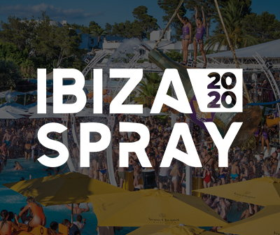 fiestas domingos O beach club sundays, Ibiza spray 2020 tickets