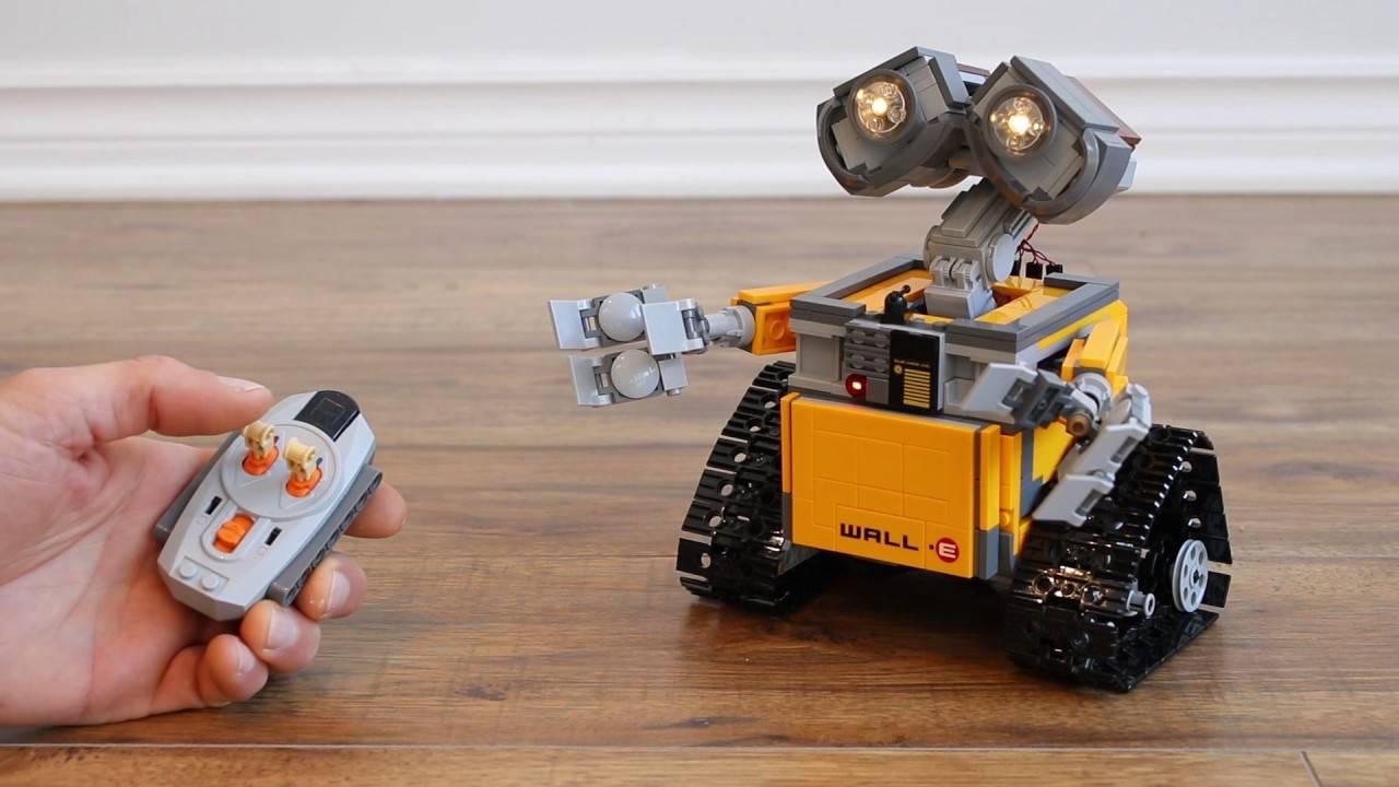 lego wall-e robot