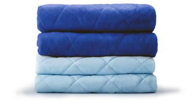 LEVIA Decke für Erwachsene - Blau