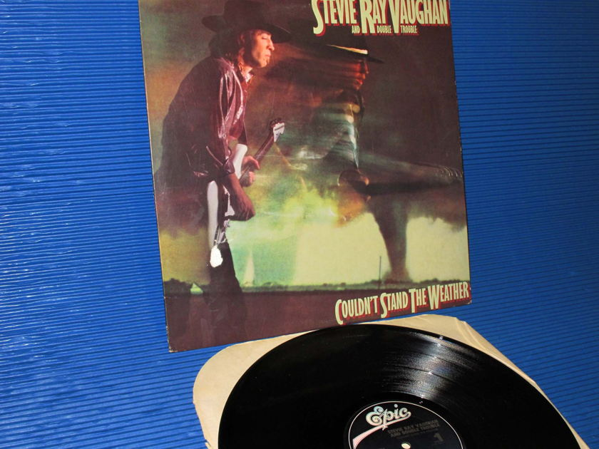 """STEVIE RAY VAUGHAN -  - """"Couldn't Stand The Weather"""" -  Epic 1984 1st pressing"""