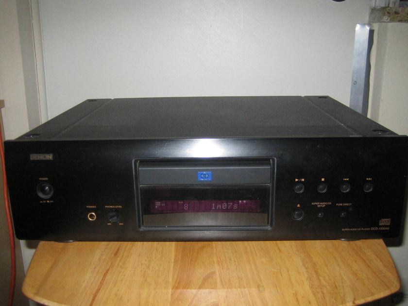 Denon DCD 1500AE audiophile SACD/CD player