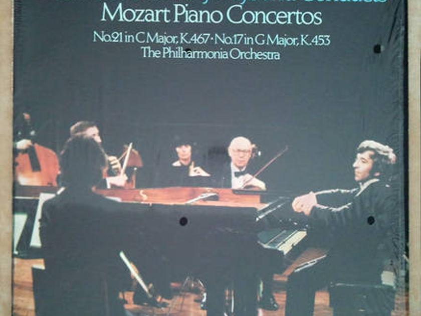 London ffrr/Ashkenazy/Mozart - Piano Concertos Nos. 21 & 17 / EX