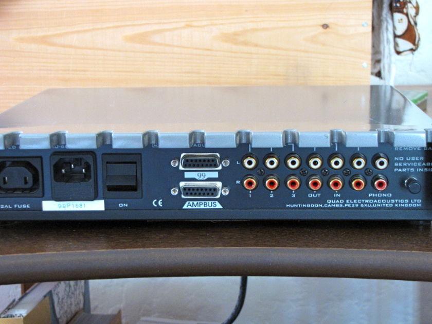 Quad Silver 99 Preamp w/original box, manual, remote, free paypal!