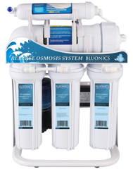 Bluonics 400 GPD Tankless Reverse Osmosis Undersink RO Booster Pump High Capacity