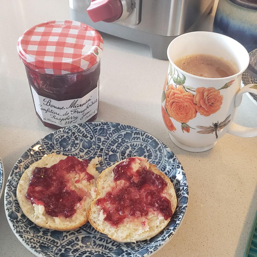 Bannock w tea