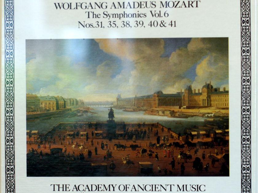 Wolfgang Amadeus Mozart Sealed - Symphonies Vol. 6 Jaap Schroder Cristopher Hogwood 4-Lp box set