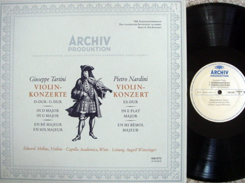 Archiv / MELKUS, - Tartini-Nardini Violin Concertos,  NM!