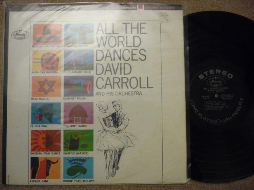ALL THE WORLD DANCES - HI FI STEREO  Mercruy LP