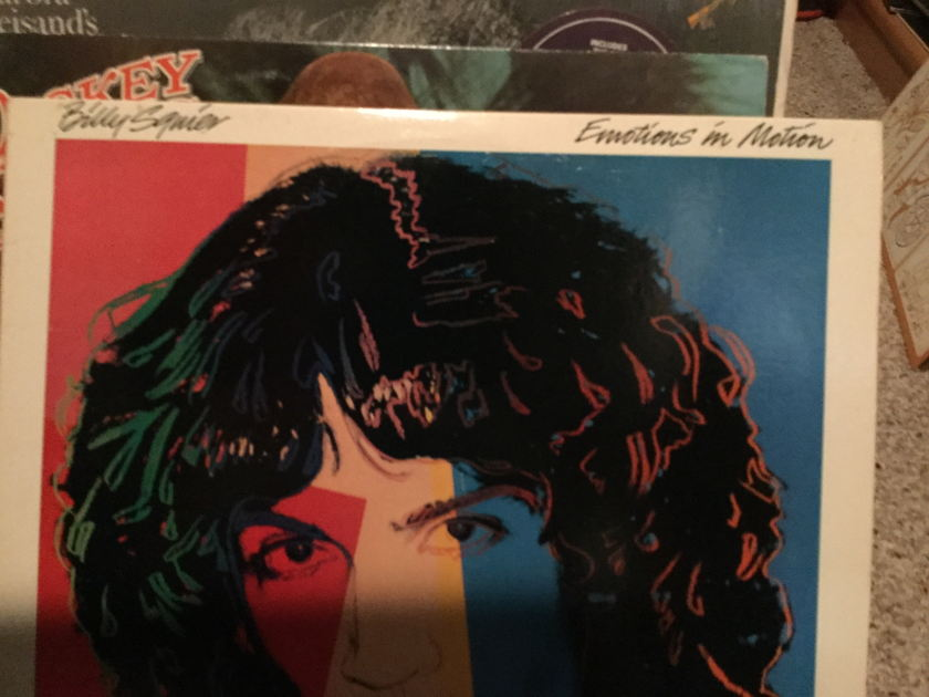 Billy Squire - EMOTIION IN MOTION