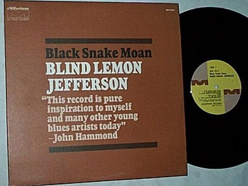 Blind Lemon - Jefferson LP-Black snake moan-orig 1970 album