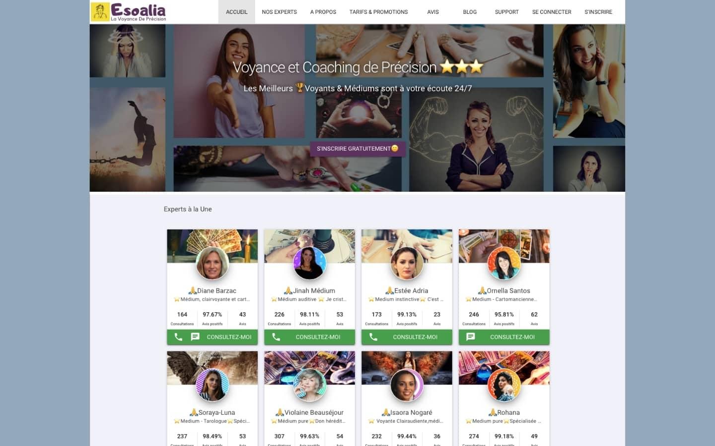 Livestar creation site de voyance homepage