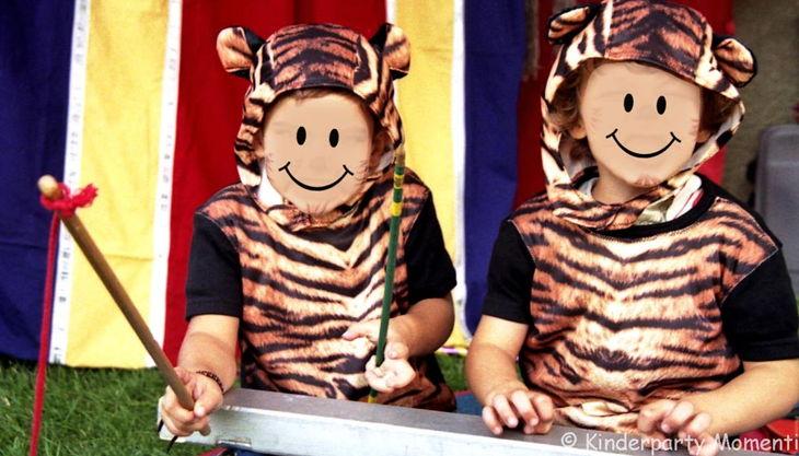 kindergeburtstag zirkus spielen