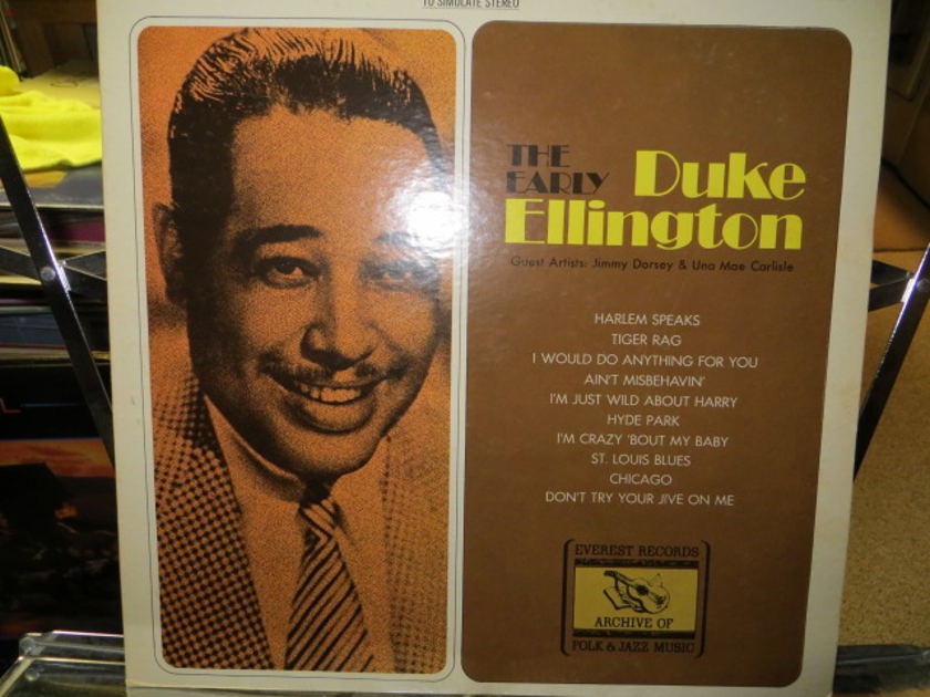 DUKE ELLINGTON - EARLY YEARS
