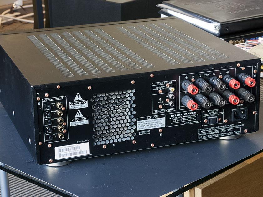 Marantz MM-9000 THX Ultra Certified Power Amplifier; 150w x 5